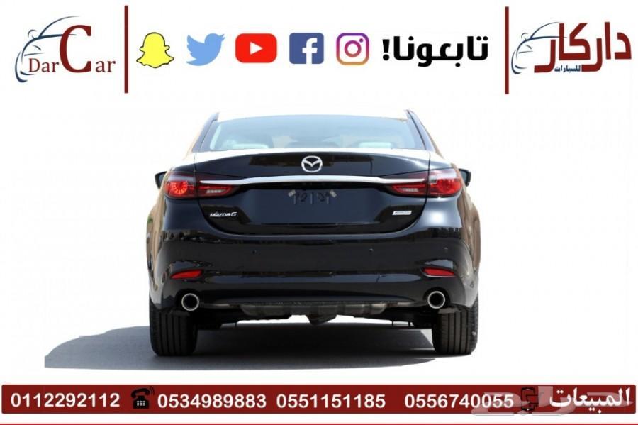 مازدا 6 - 2019 نص فل بطاقة جمارك
