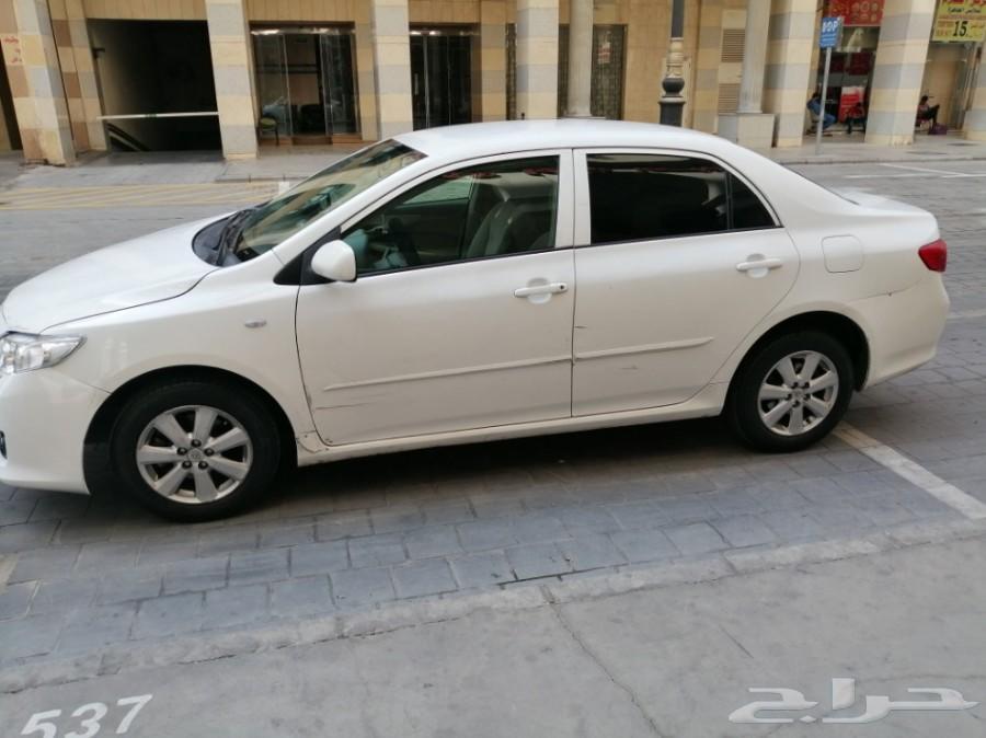 تم البيع كورولا 2009 مفحوصه للبيع ب13