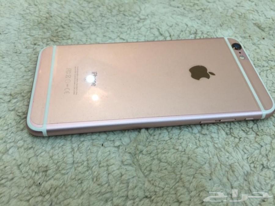 ايفون 6s Plus 64 جيجا روز قولد