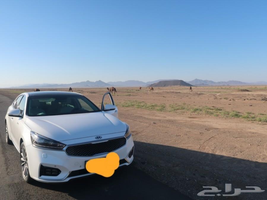 كيا كادينزا 2018 للبدل بسيارة كبيرة