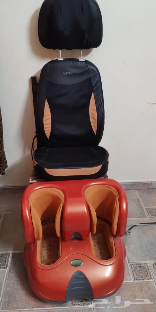 كرسي مساج مع الاقدام