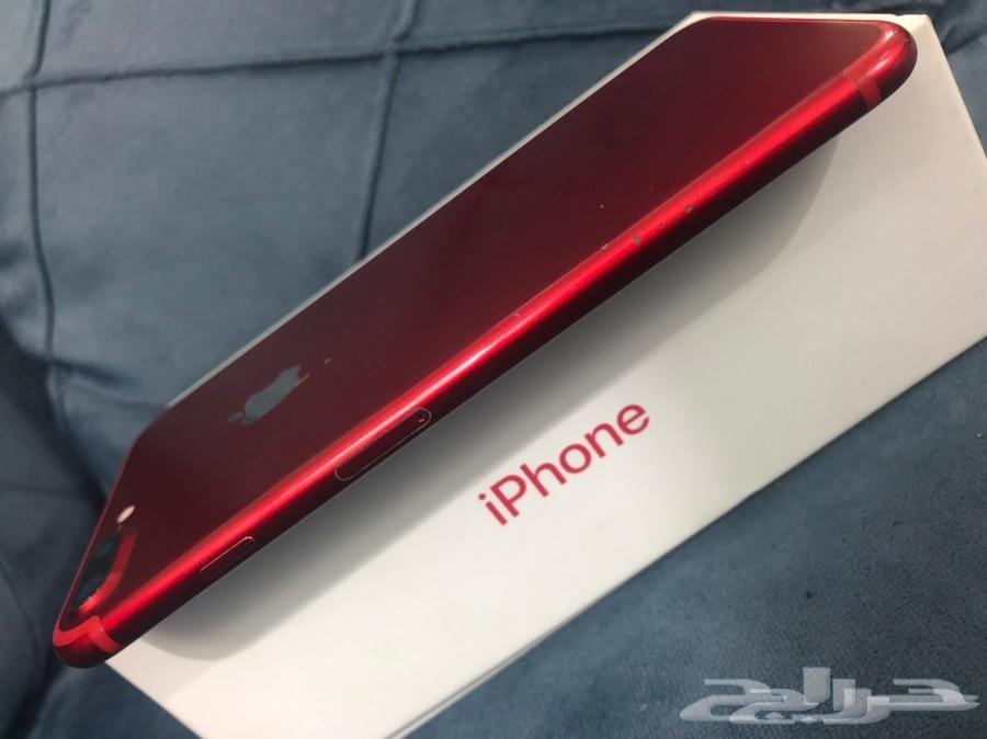 ايفون 7 بلس 256 قيقا احمر