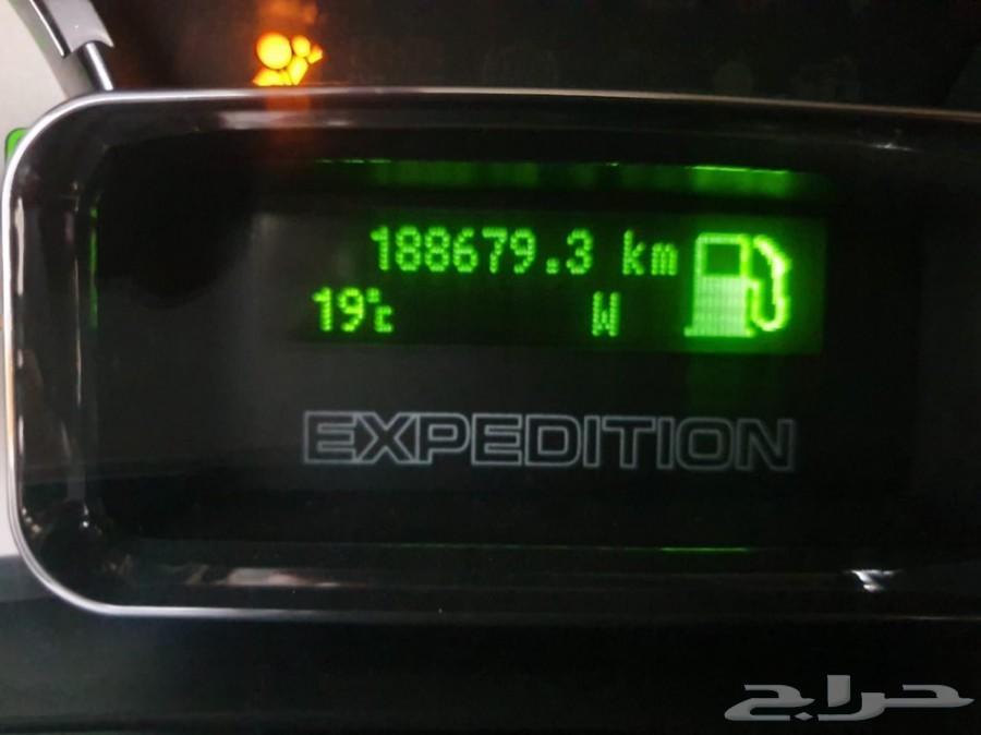 فورد اكسبيديشن سعودي بدون دبل 188 الف كلم