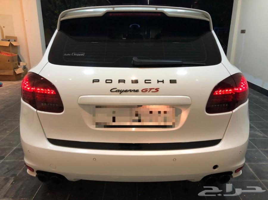 للبيع بورش كايين ابيض GTS 2013