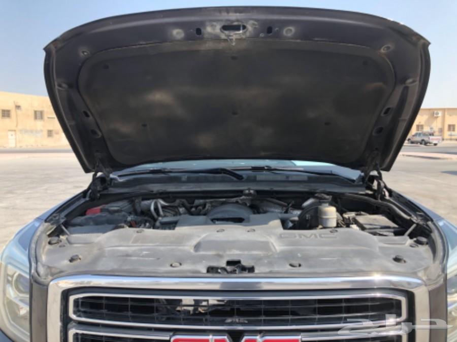 حراج السيارات   للبيع جي ام سي يوكن SLT XL موديل 2015 بحريني