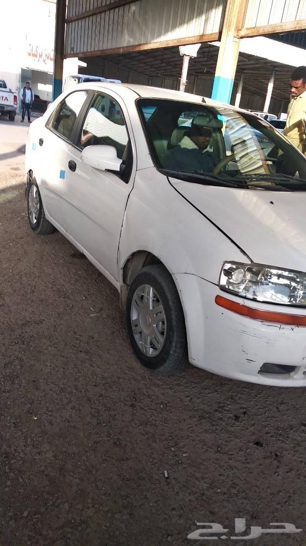 سياره افيو 2005 تشليح