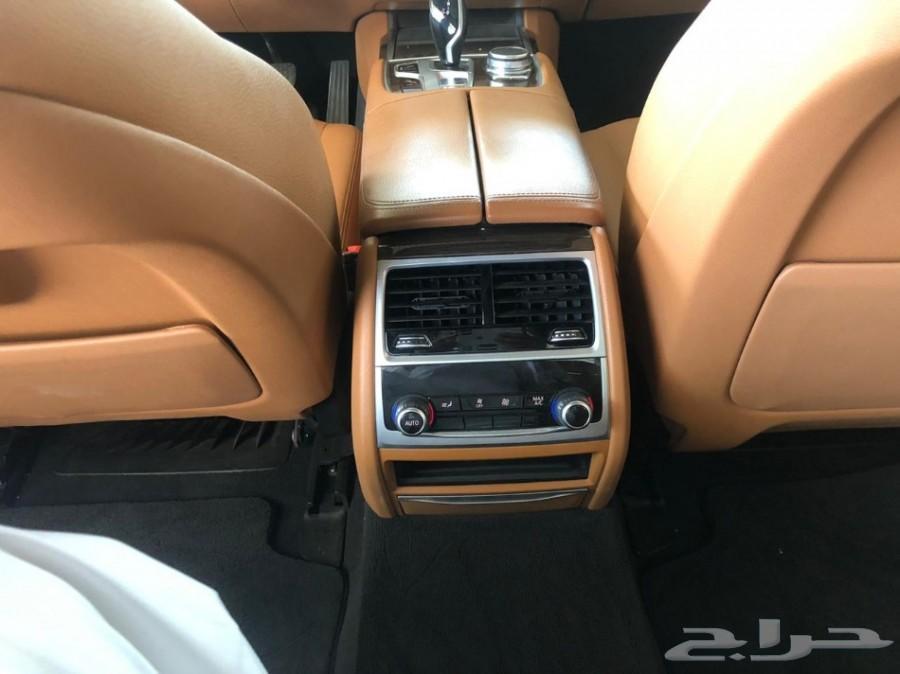 BMW 730LI 2017 نظيفة جدا