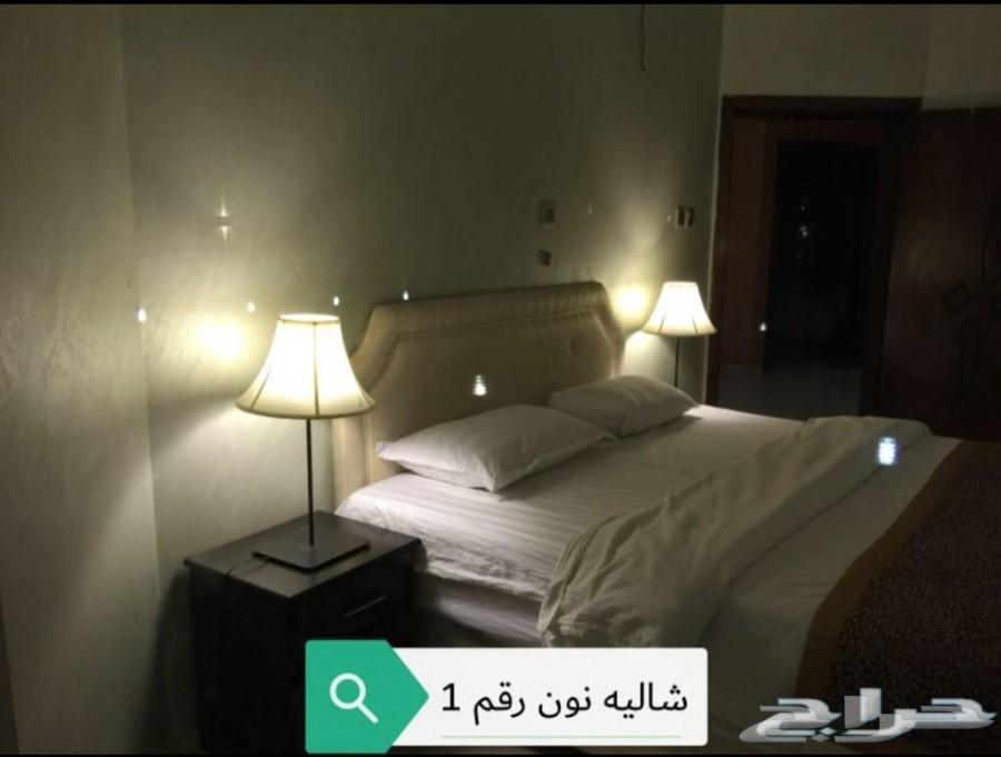 شاليهات نون الفندقية