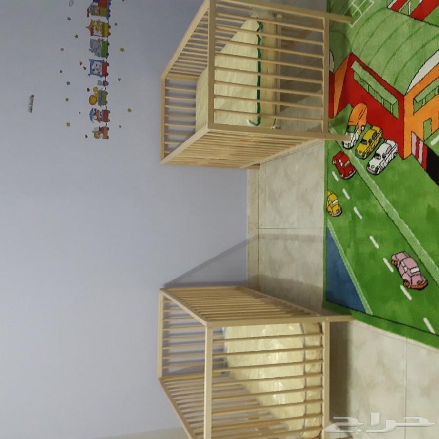 2 سرير اطفال جديد للبيع