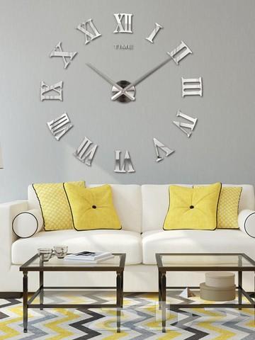 ساعات جدار ثلاثية الأبعاد بألوان واشكال متعدد