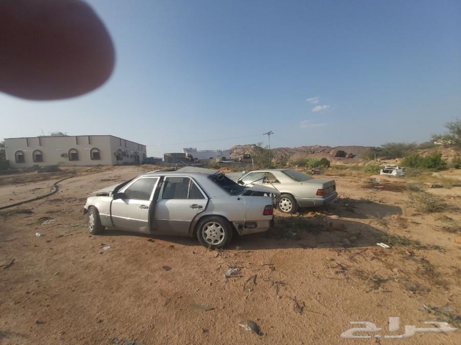 سيارات مرسيدس مصدومه