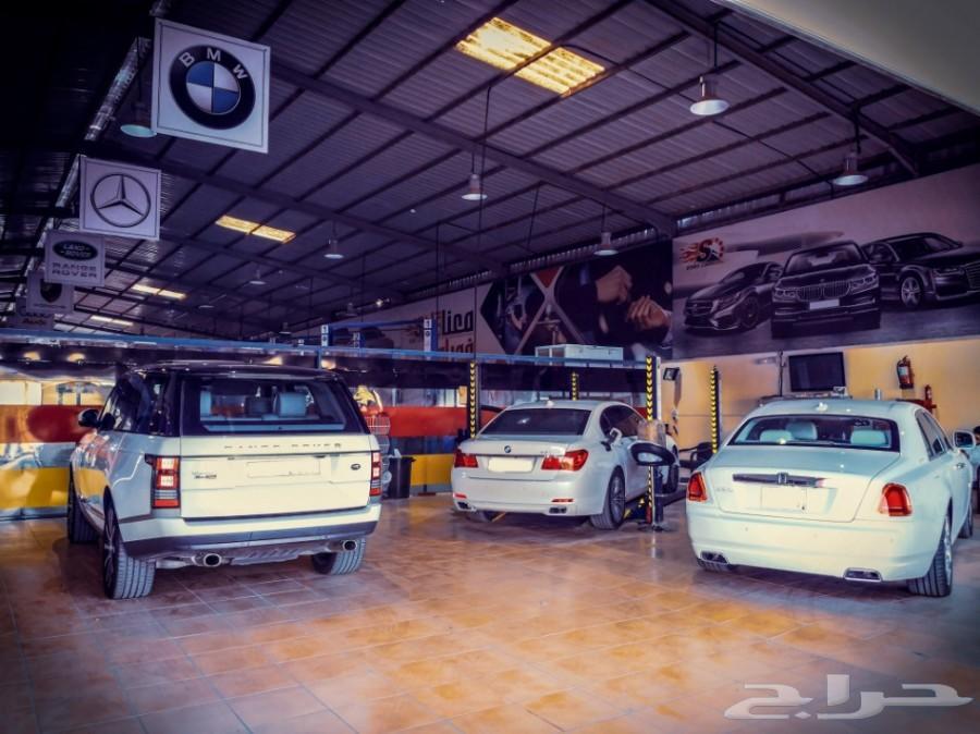 صيانة سيارات بي ام دبليو بالرياض - مركز السمو