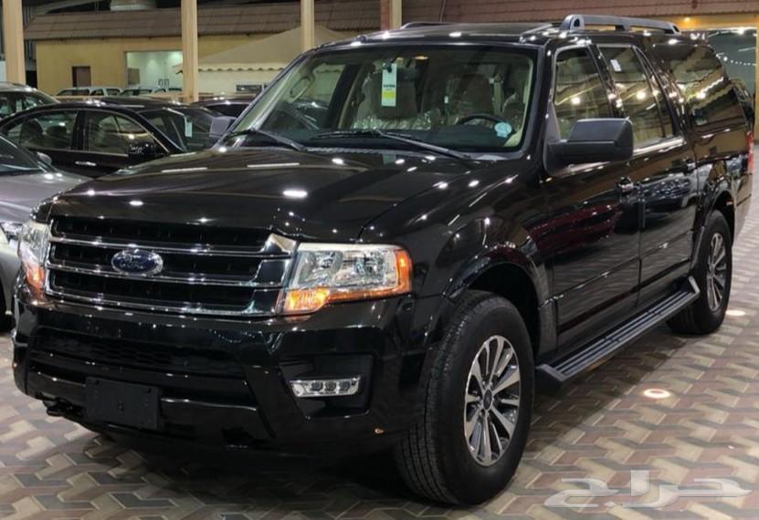 اكسبديشن 2015 فل كامل XLT V6 علي الشرط