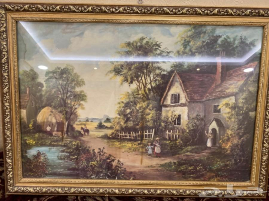 لوح فنية يدوية تراثية من لندن