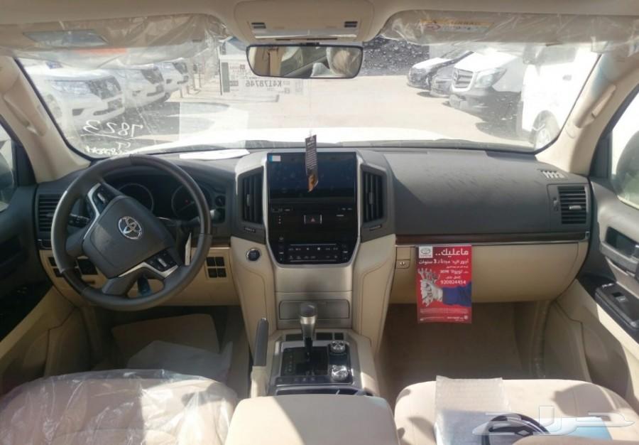 تويوتا لاندكروزر GXR3 2019تورنج فل مخمل سعودي