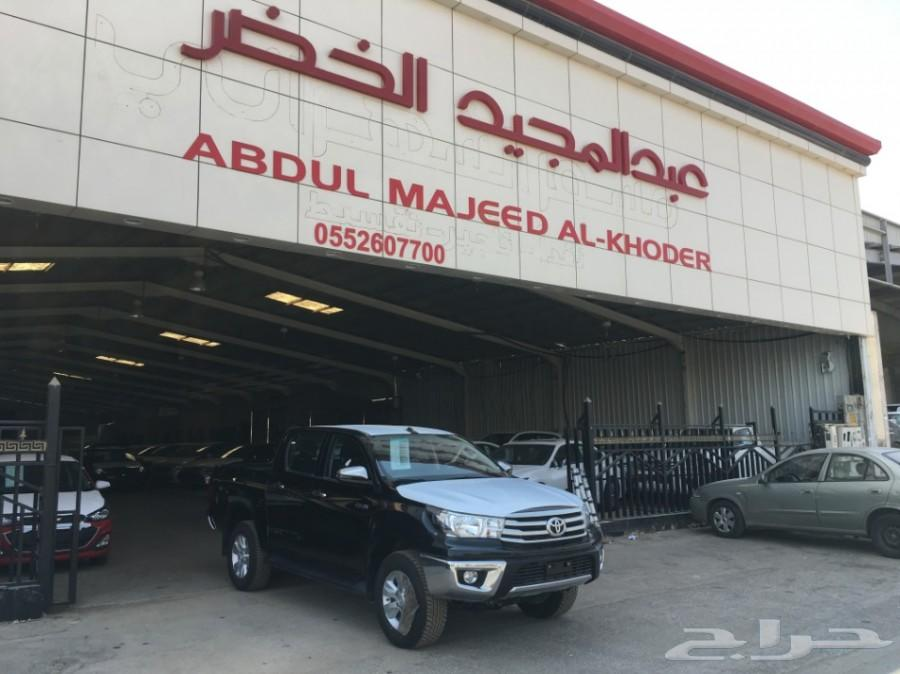 تويوتا هايلكس غمارتين ديزل خليجي 2019ب 114.000 لدى فرع شركه الخضر للسيارات الرياض