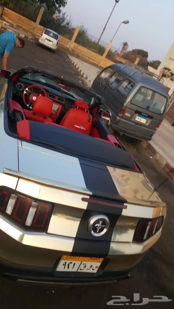سياره فورد موستنج كشف 2010