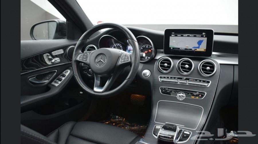 للبيع مرسيدس C300 موديل 2018 استيراد.