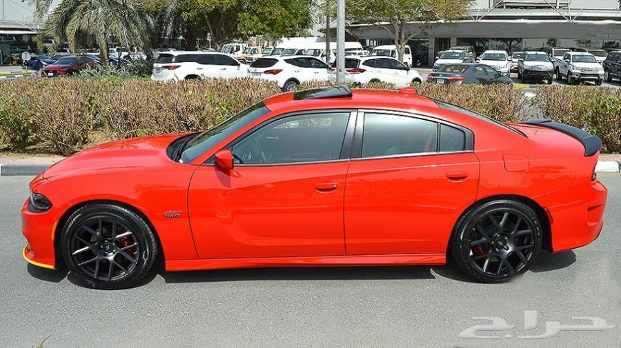 دودج-تشارجر-سكات باك-6.4ليتر-V8-أحمر-0كم