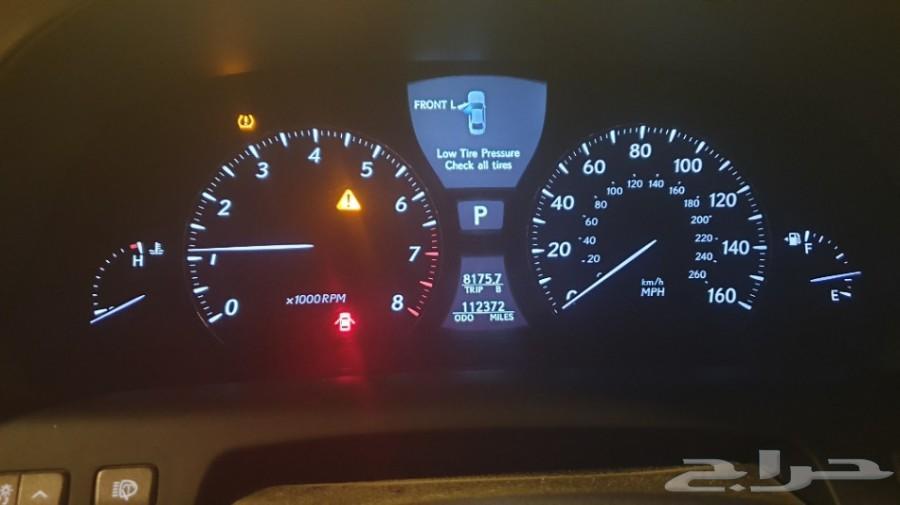 لكزس LS460 موديل 2011 أمريكي عداد 122 الف ميل