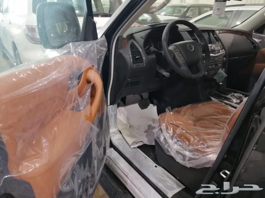 باترول SE2 V6 فتحة - شنطه كهرب 2019 اصفار