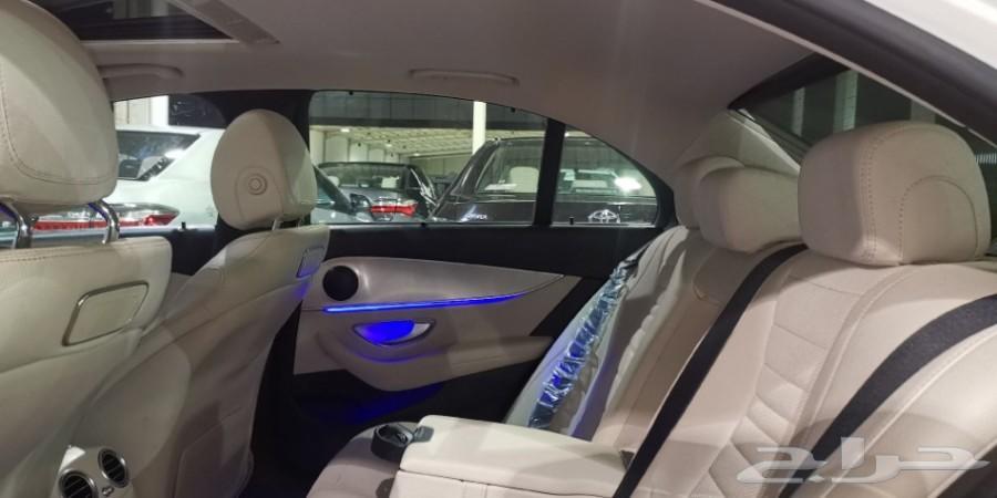 مرسيدس E200 فل 2017 سعودي