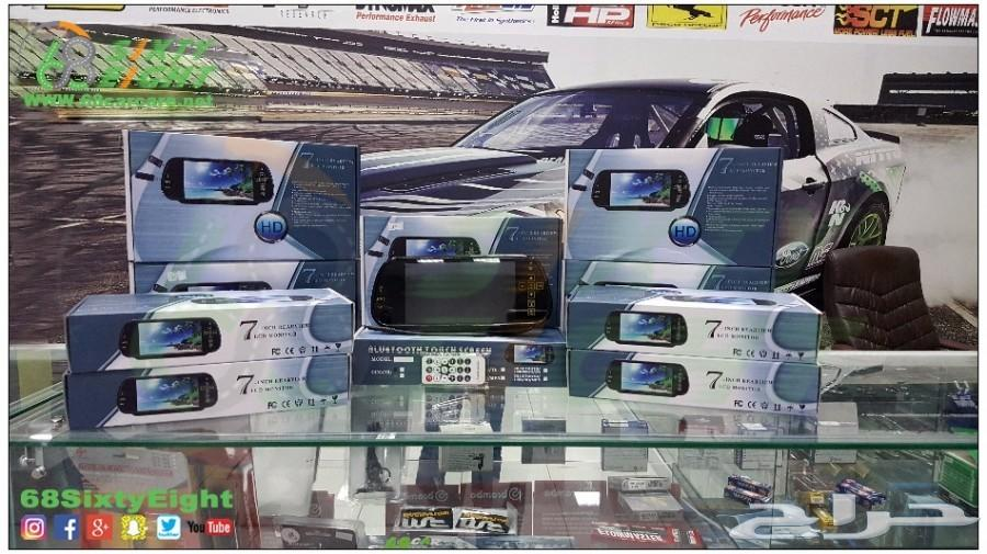 مرايا وشاشة تدعم جميع السيارات 7بوصة الجديدة