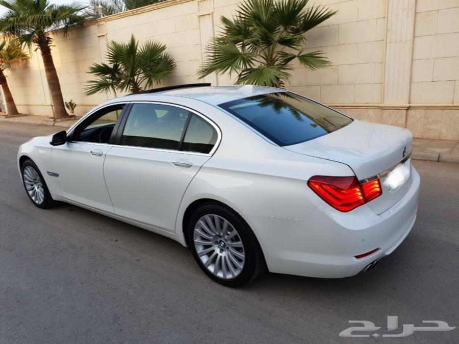 BMW 730 2012 ناغي بحالة الوكاله نظيف جداا
