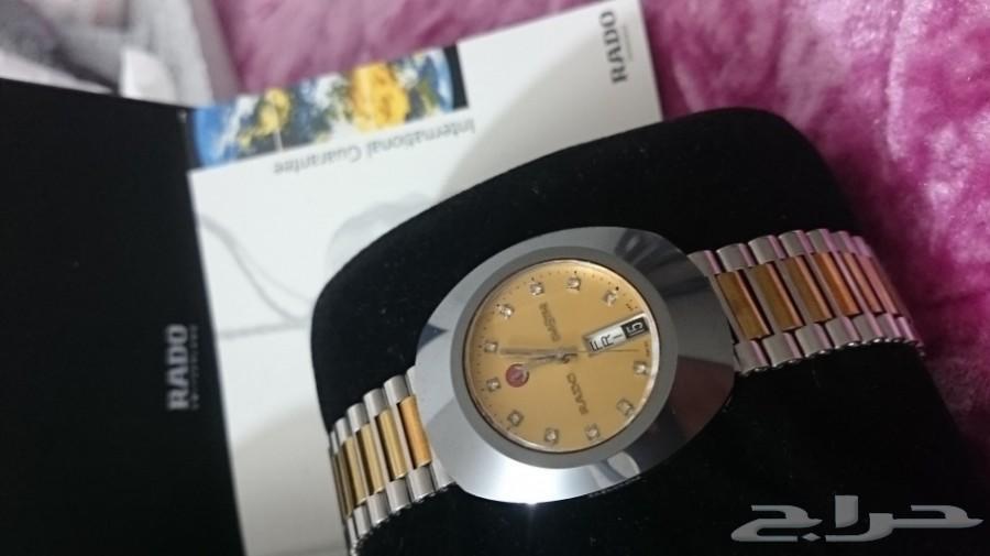 ساعة نوع رادو RADO دياستار رجالي سويسري