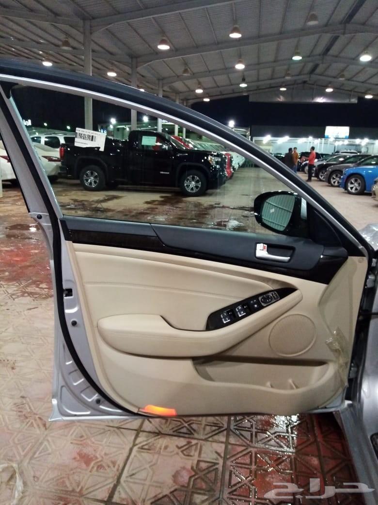 كيا كادنزا 2016 فضي شركة سما للسيارات