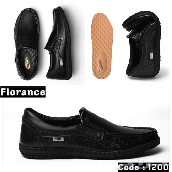 أحذية جلد طبيعي طبي