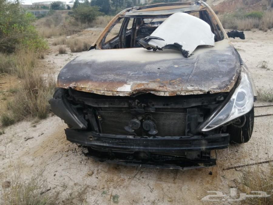 للبيع سوناتا 2012 محروقة