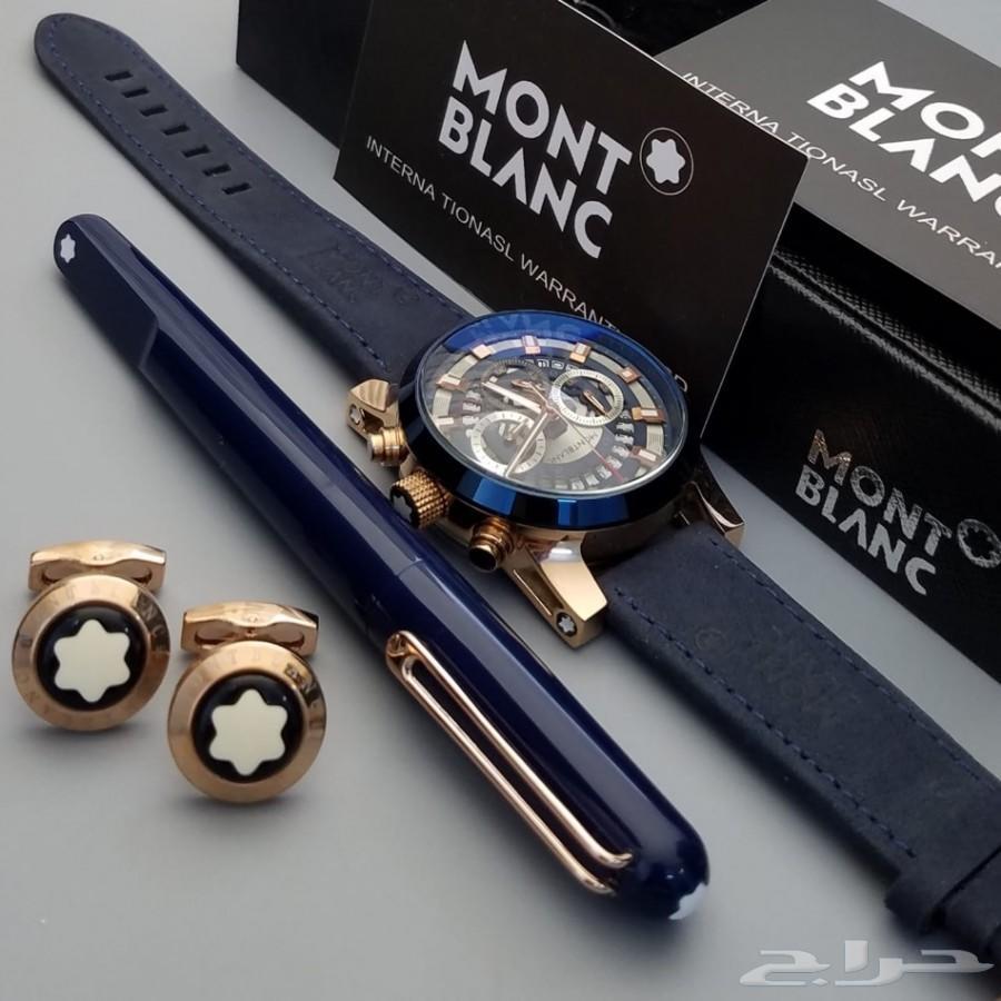 اطقم ساعات مونت بلانك قلم ثعبان ومغناطيس