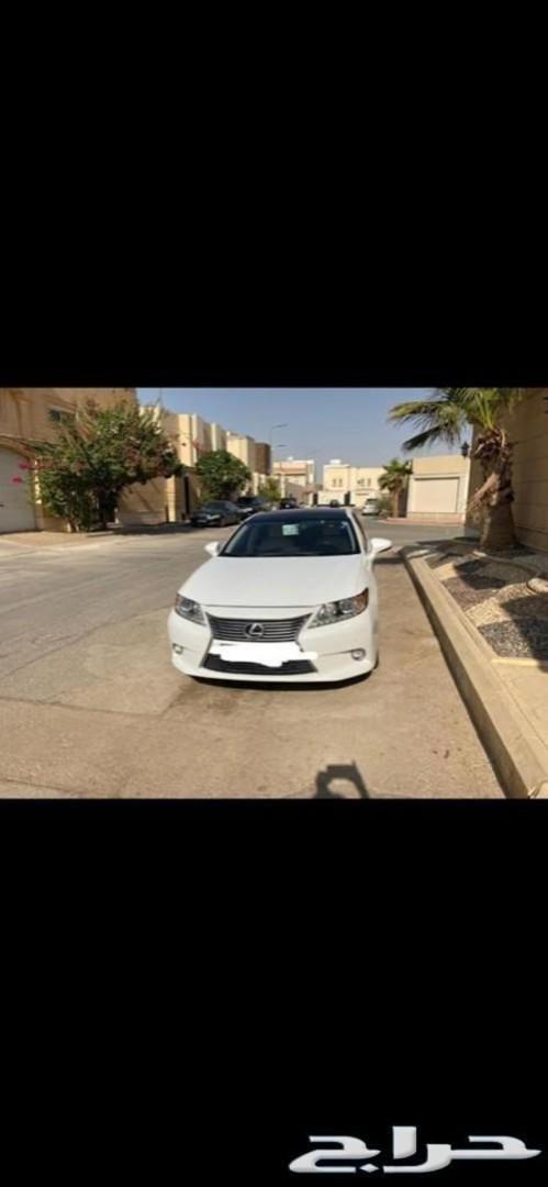 سيارة لكزس وكالة سعودي 2014. ES