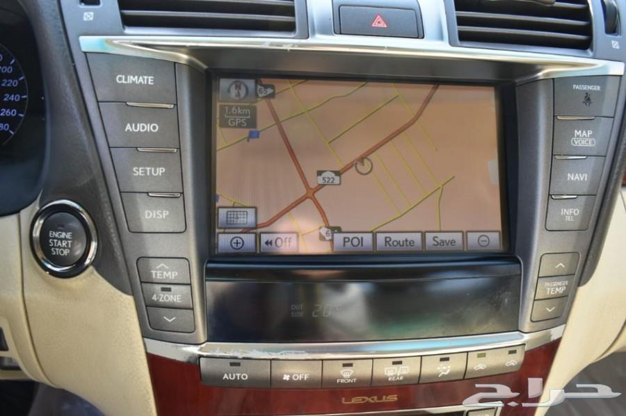 لكزس LS 460 2011 نظيف جدآ
