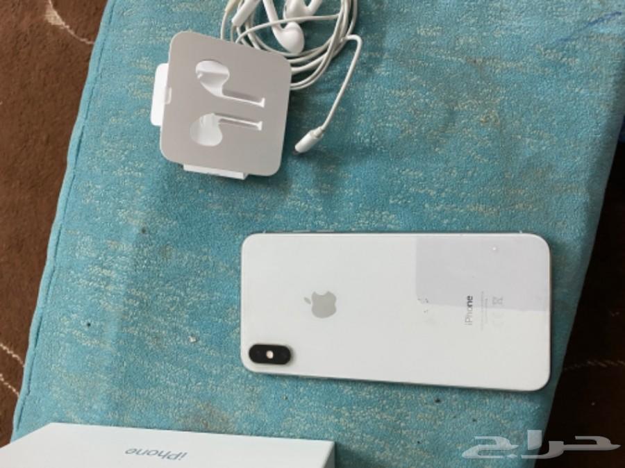 جوال ايفون اكس اس ماكس 256 سيلفر اخو الجديد