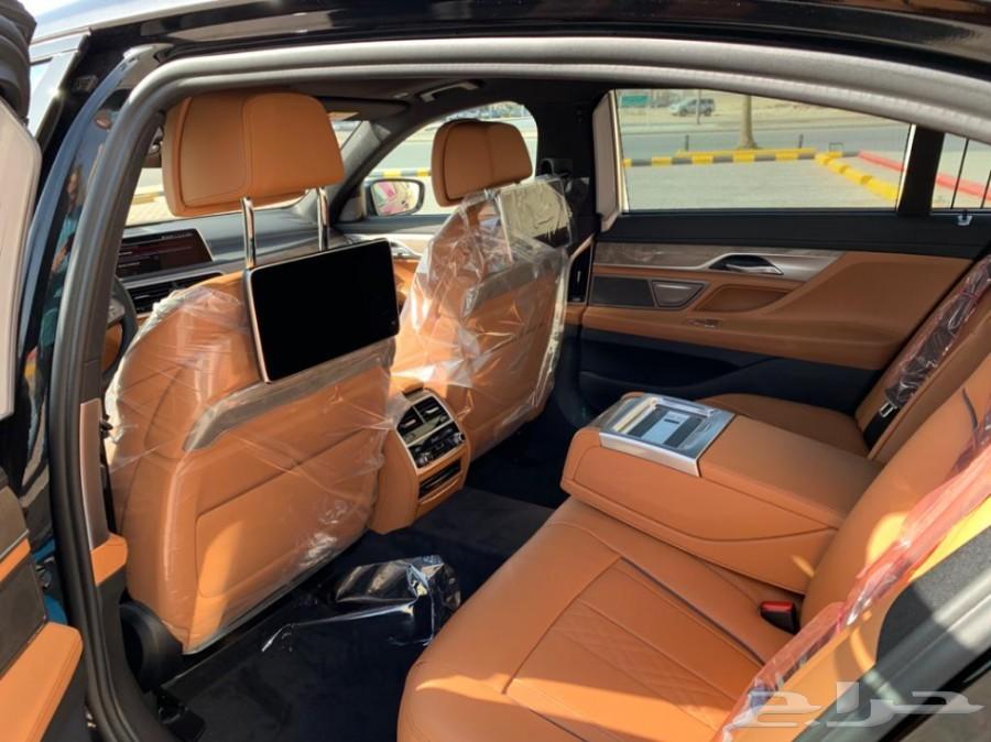 BMW 730 M kit بلاك اوت اسود داخل جملي فل كامل
