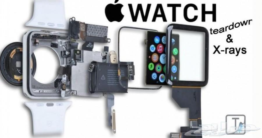 قطع غيار Apple Watch مقاس 38 و 42 (اصلي) W