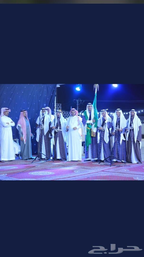 عرضة نجدية فرقة الراية الخضراء للفنون الشعبية