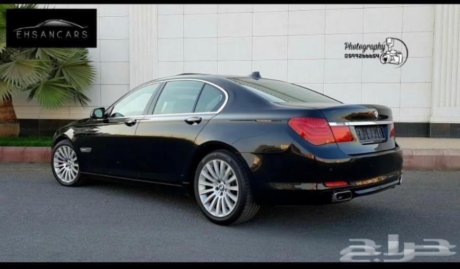 BMW 750i  ممشى 83 الف فقط