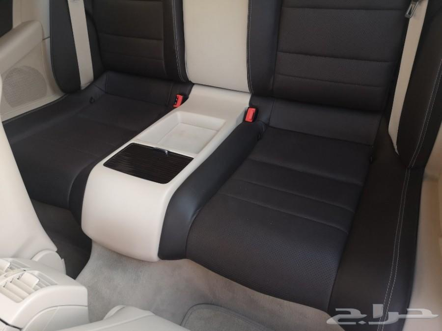 مرسيدس E200 كوبيه 2014 خليجي بطاقة جمركية