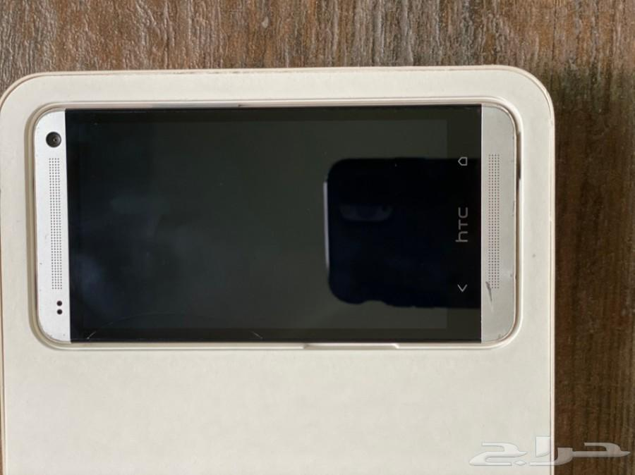 HTC ONE - 32GB - LTE - Silver جوال اتش تي سي