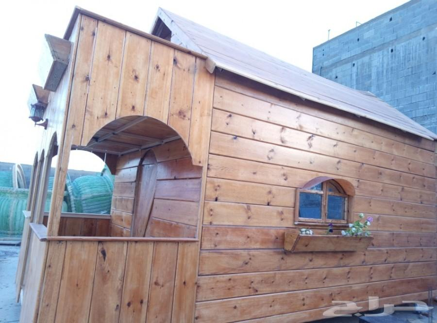 حراج العقار | كوخ خشبي للبيع