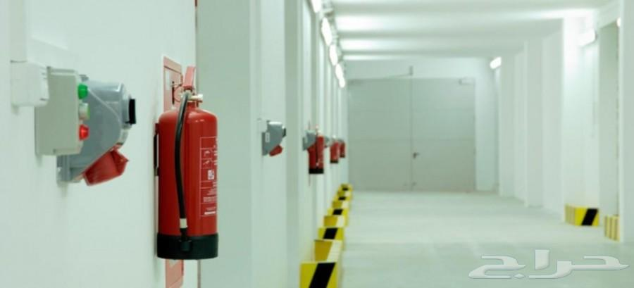 تنفيذ و صيانة مشاريع الإنذار و الإطفاء
