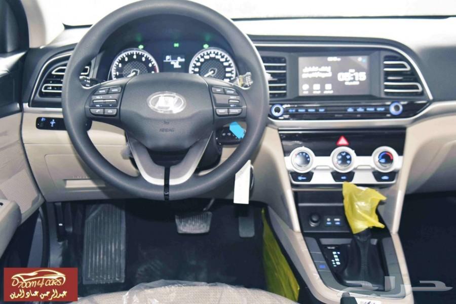 هيونداي إلنترا  2020 مثبت سرعة2000CC جنوط