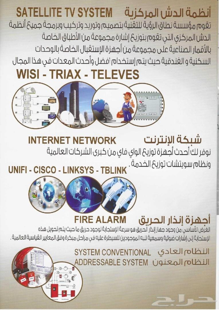 كاميرات مراقبة وأنظمة أمنية