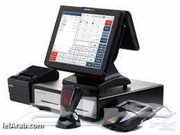 جهاز كاشير كامل مع برنامج مبيعات