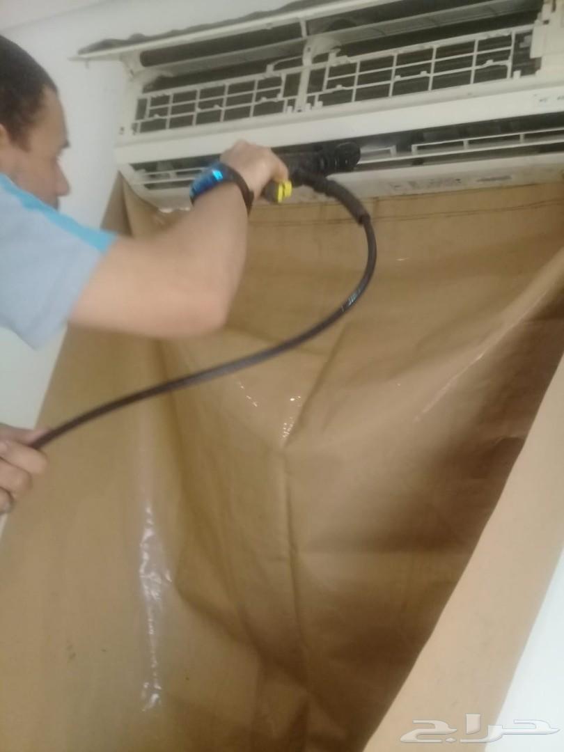 شركة جلي بلاط شقق فلل تنظيف خزانات ومكيفات