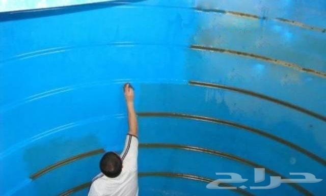 غسيل خزانات المياة شركة غسيل خزانات عزل خزانا