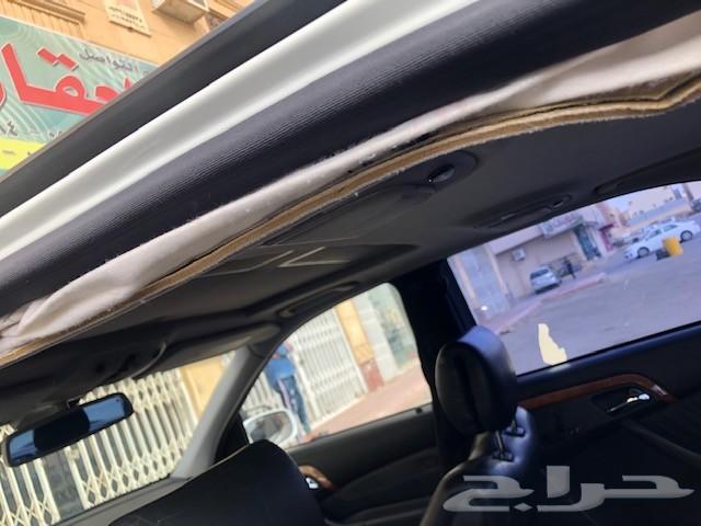سياة مرسيدس S500 موديل 2001 للبيع تشليح